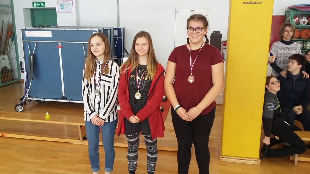 Šolsko področno tekmovanje v badmintonu