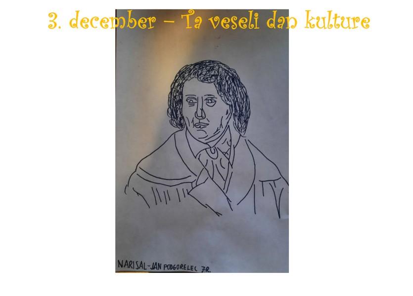 3. DECEMBER – TA VESELI DAN KULTURE